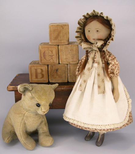 Gail Wilson Cloth Doll Lottie